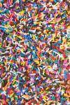 Ice Cream Sundae Jimmies Sprinkles - Sugar Cone Jimmies Mix