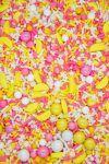 Pink Lemonade Sprinkles Mix| Sweet Tart Sprinkle Medley, Bulk Lemonade Party Blend