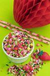 Strawberry Shortcake Party Sprinkles Mix - Berry Bliss Sprinkle Medley